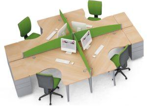 mobilier de bureau modulable