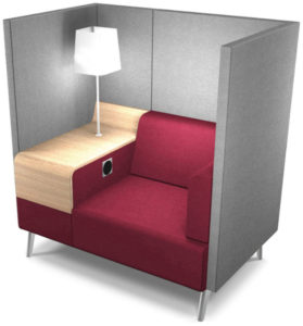 mobilier accueil cosy