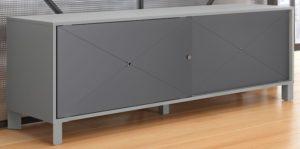 mobilier rangement design métallique