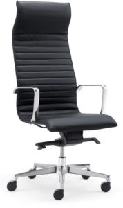 fauteuil direction cuir