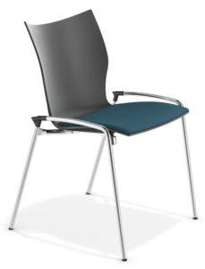 chaise séminaire avec assise garnie