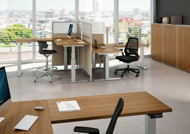 sièges de bureaux ergonomiques et bureaux réglables en hauteur