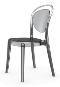 chaise plexi chr