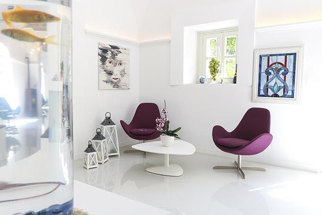 mobilier de collectivité : espace accueil détente
