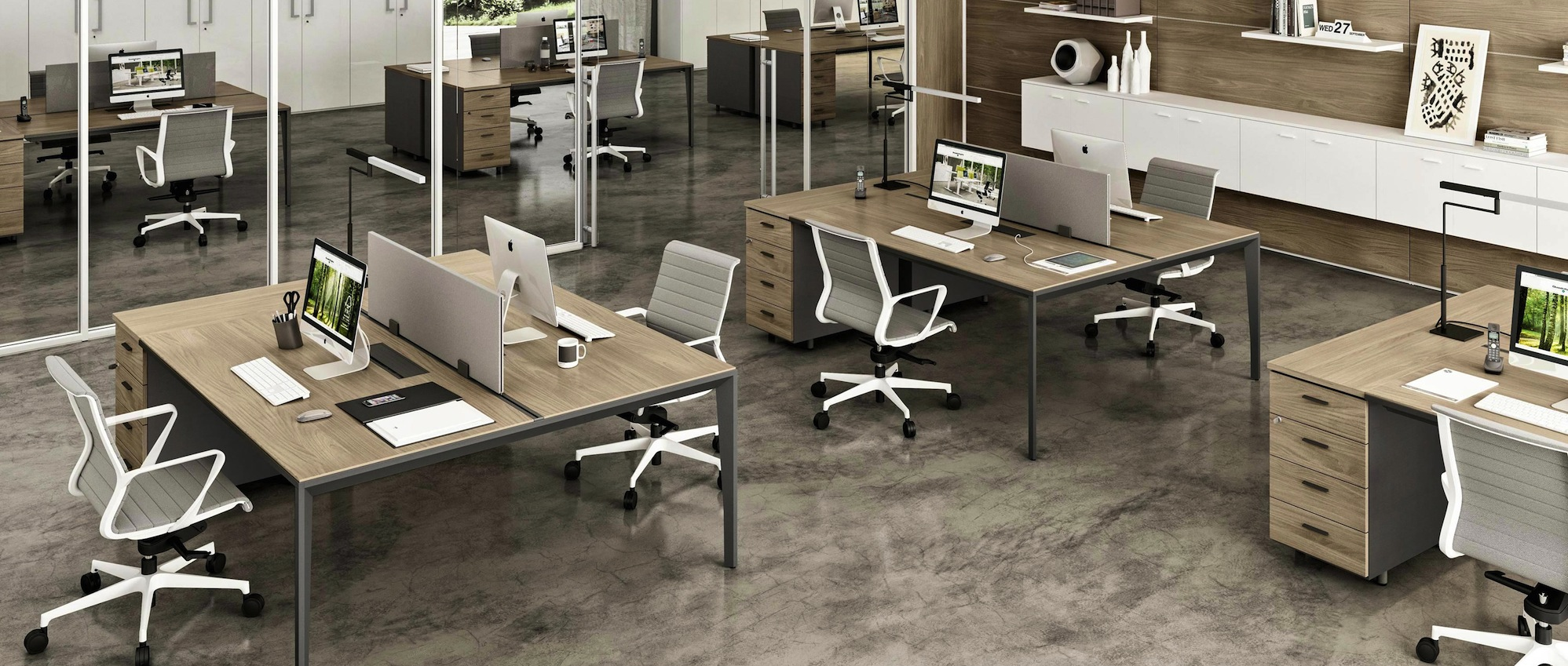 Agencement de bureaux professionnels mobilier de bureaux - Mobilier de bureau montpellier ...