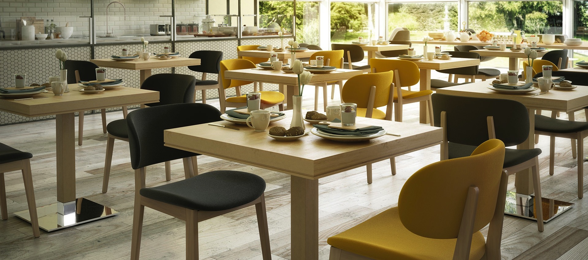 mobilier de restaurant, mobilier chr