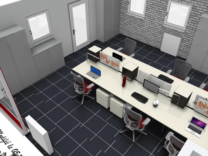bureau mobilier rangement