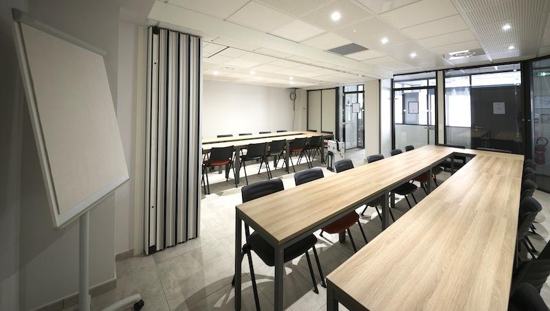 tables de bureau salle formation