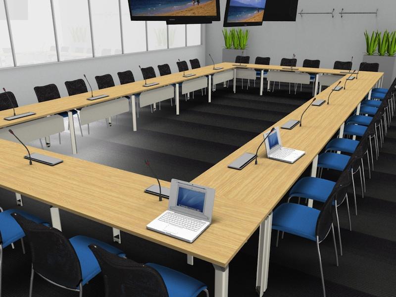 salle reunion connectée