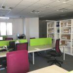 réaménagement de bureaux à Saint-Etienne Loire