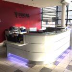 banque accueil Focal côté