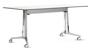 table rabattable dépliée
