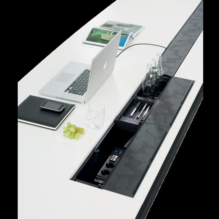 Tables formation avec connectique intégrée