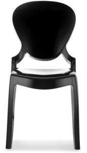 chaise medaillon plexi