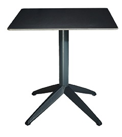 table carrée restauration