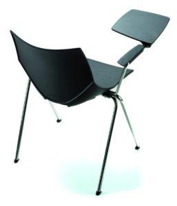 chaise congrès avec écritoire