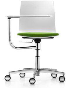 chaise formation avec tablette