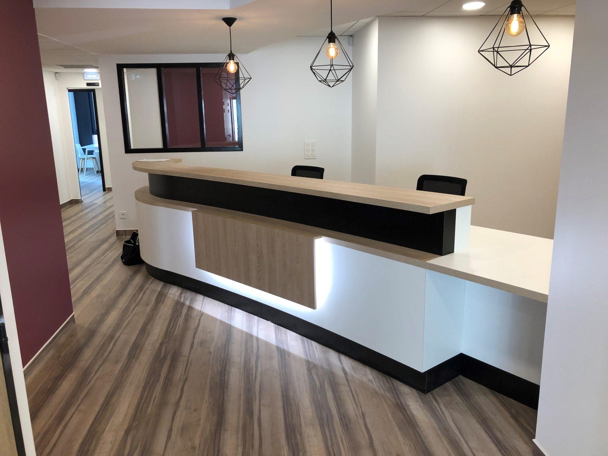 Aménagement d'un centre dentaire - accueil