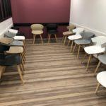 Aménagement d'un centre dentaire - salle d'attente