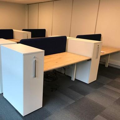 Installation pour un de nos clients Stéphanois de postes ergonomiques